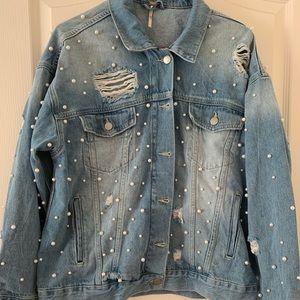 Free people jean jacket.